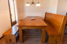 Taula menjador - Era del Mestre casa rural